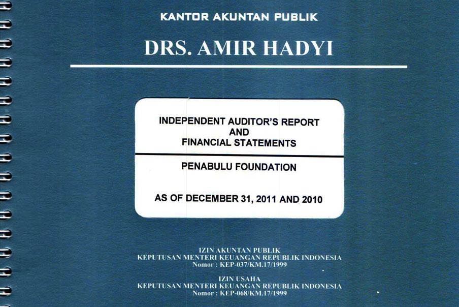 Laporan Keuangan Penabulu Penabulu Foundation